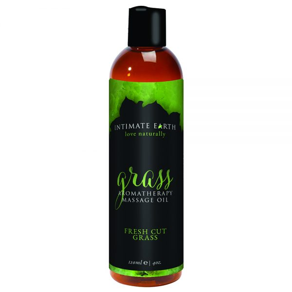 Intimate Earth-massage oil-GRASS-120ml-butterflyb